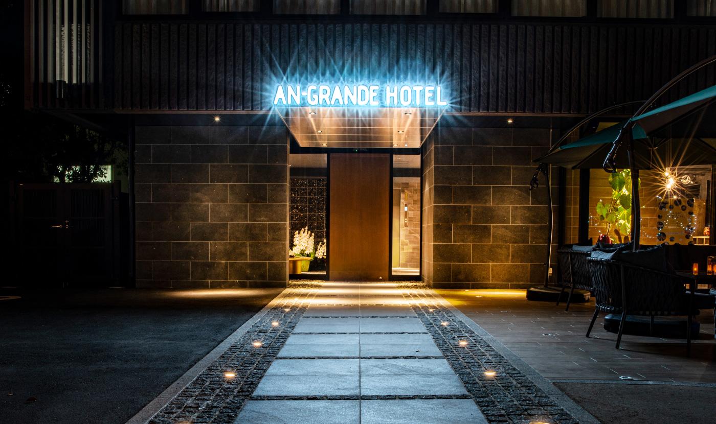 アングランデホテル奈良 エントランス